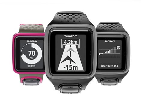 Test De La Montre Gps Tomtom Runner on gps rate monitor garmin
